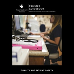 Quality &  Patient Safety Trustee Guidebook